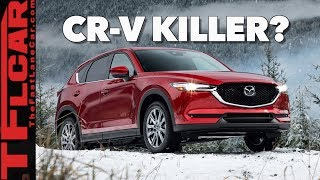 Download At Last! The 2019 Mazda CX-5 Turbo Gets a Turbo! (Snowy First Drive Review) Video