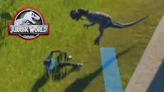 Download DINOSAUR EATS A GUEST! - Jurassic World Evolution #6 Video