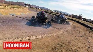 Download [HOONIGAN] Field Trip 001: CrossKart Tandem Drifting at Grange Motor Circuit Video