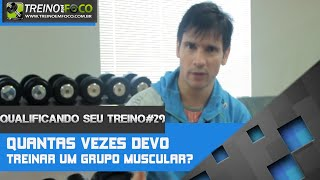 Download Treinar quantas vezes cada grupo muscular? - Qualificando seu Treino #29 Video