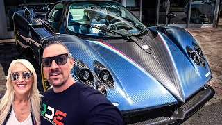 Download SUPERCAR BLONDIE AND PAGANI ZONDA CAUSE CHAOS AT CARS & CHRONOS! Video