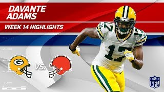 Download Davante Adams' 2 TDs & 10 Catches vs. Cleveland | Packers vs. Browns | Wk 14 Player Highlights Video
