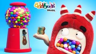 Download Oddbods | Bola De Chiclete | Desenho Infantil | Oddbods Brasil Video