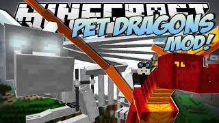 Download Minecraft   PET DRAGONS MOD! (Tame, Mount & Fly Your Own Dragon!)   Mod Showcase Video