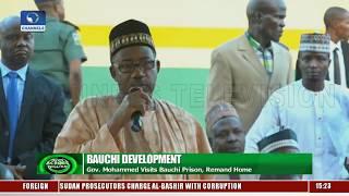 Download Gov Mohammed Frees Visits Bauchi Prison, Remand Home Video