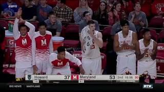 Download Howard at Maryland - Men's Basketball Highlights Video