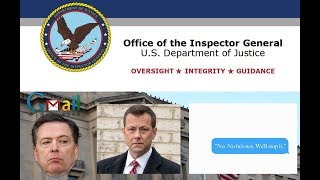 Download BOMBSHELL IG FBI Report - Comey Gmail & Peter Strzok Text Says He Will Stop Trump! Video