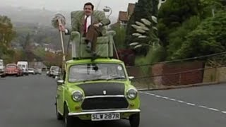 Download Mr Bean - Fahrt auf dem Autodach Video