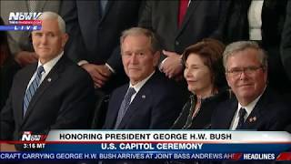 Download FULL CAPITOL CEREMONY: President George H.W. Bush Lying In State Video