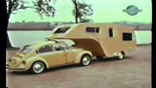 Download VW Bug Fifth Wheel Trailer FOUND. Forgotten Volkswagen Camper. 1 of a kind VW accessory. Video