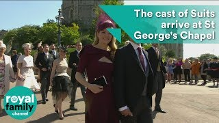 Download Royal Wedding: The cast of Suits arrive at St George's Chapel Video