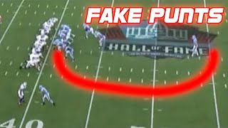 Download NFL Best Fake Punts Ever (Compilation) Video