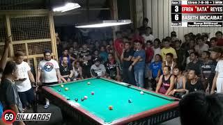 Download (2) Baseth ″Kingpin″ Mocaibat Vs Efren ″Bata″ Reyes (Dasmarinas Cavite) Video
