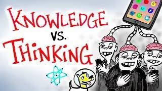 Download Knowledge vs Thinking - Neil deGrasse Tyson Video