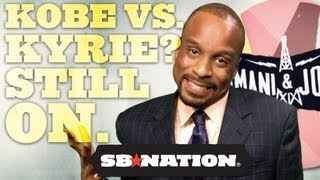 Download Kyrie Irving vs. Kobe Bryant 1-on-1? Still On; Bomani & Jones episode 34 Video