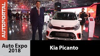 Download Kia Picanto at Auto Expo 2018 - Autoportal Video