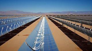 Download Le Maroc construit la plus grande centrale solaire du monde Video