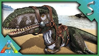 Download MEGALOSAURUS CAVE TAMING! BABY BREEDING & IMPRINT | NOCTURNAL MOUNT! | Ark: Survival Evolved [S2E75] Video