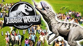 Download Carnivore Rampage Vs. A Human Zoo! - Jurassic World Evolution Gameplay Video