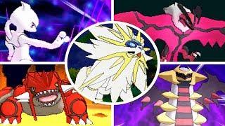 Download Pokémon Ultra Sun / Moon - All Legendary Pokémon + Signature Moves Video