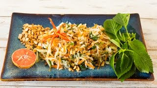 Download Vietnamese Kohlrabi and Carrot Salad Video