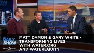 Download Matt Damon & Gary White - Transforming Lives with Water.org and WaterEquity | The Daily Show Video