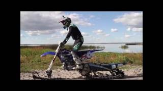 Download Morgan Kaliszuk Riding The Yeti Snow MX in Water Video