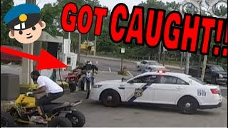 Download CAUGHT BY COPS GETTING GAS ON DIRT BIKE Video
