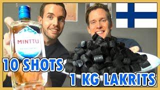 Download Klarar vi den Finska klassikern? (äta 1 kg lakrits & dricka 10 Minttu) Video