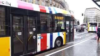 Download Luxembourg City Buses 15 January 2015 Video