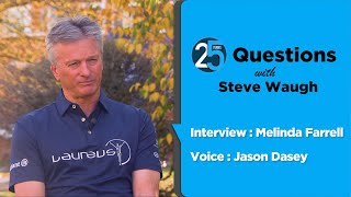Download 25 Questions with Steve Waugh Video