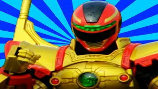 Download Power Rangers - All Red Ranger Battlizer Transformations and Finishers | In Space to Ninja Steel Video