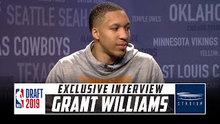 Download NBA Draft Prospect Grant Williams Sits Down With Shams Charania | Stadium Video