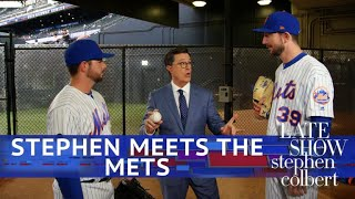 Download Stephen Visits The NY Mets With Ideas For Modernizing Baseball Video