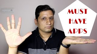 Download 5 Must have Different App for Smartphone - Nov 2016 Video