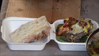 Download London Street Food. Cooking Huge Beef Burgers in Borough Market, Soutwark Video