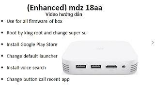 Download ROOT, cài Play Store đổi launcher search voice MiBox 3 Pro (Enhanced) MDZ-18-AA Video