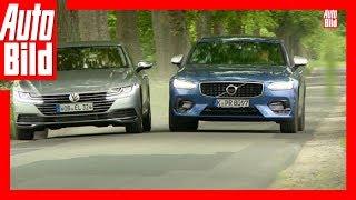 Download VW Arteon gegen Volvo S90 (2017) - Arteon im ersten Oberklasse-Duell Video