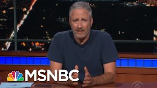 Download Jon Stewart Takes On President Donald Trump's 'Cruelty' | Deadline | MSNBC Video