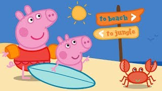 Download Peppa Pig English Episodes | Splashing Around With Peppa Pig! Peppa Pig Official Video