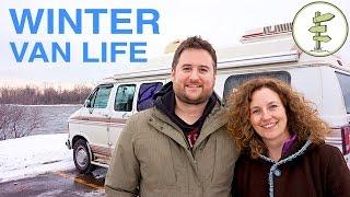Download Van Life - Couple Survives 2 Canadian Winters Living in a Van! Video