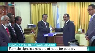 Download Somalia President Inauguration: Farmajo signals a new era of hope for country Video