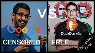 Download Google vs DuckDuckGo | Search engine manipulation, censorship and why you should switch Video