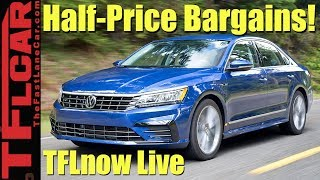 Download Worst Car Investments: Top 10 Cars That Depreciate Like Rocks - TFLnow Live #30 Video