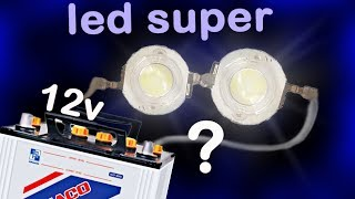 Download How to make a super bright 3 5V LED with 2 $ !! Select resistor to use 12v battery Alf Video