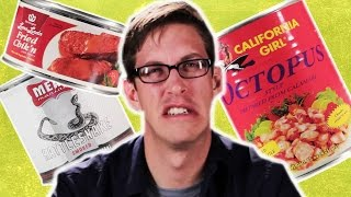 Download The Weirdest Canned Food Taste Test Video