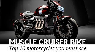 Download Top 10 Muscle Motorcycles and Power Cruisers with the Highest Speed Capabilities Video