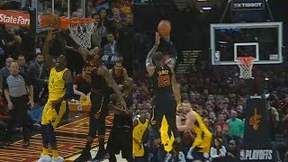 Download LeBron James Blocks Victor Oladipo Then Hits Game Winner! Cavaliers vs Pacers Video
