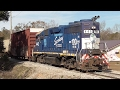 Download [4K] Shortline Romance: Alabama & Gulf Coast Railway, Mobile, AL, 01/15-17/2017 ©mbmars01 Video