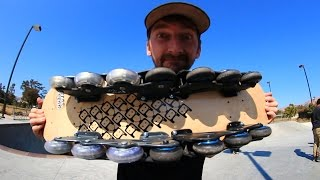Download A ROLLERBLADE SKATEBOARD?! | YOU MAKE IT WE SKATE IT EP 24 Video